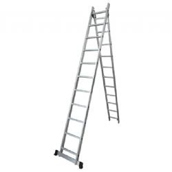 Comprar Escada de alum�nio extens�vel 2x6 degraus - TEA2X6-Tander Profissional