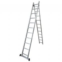 Comprar Escada de alumínio extensível 2x6 degraus - TEA2X6-Tander Profissional