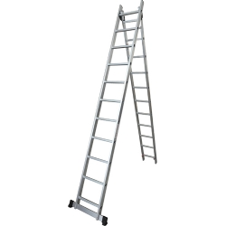 Comprar Escada de alumínio extensível 2x7 degraus - TEA2X7-Tander Profissional