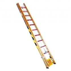 Comprar Escada de madeira extens�vel 26 degraus �teis 4.50 x 7.80 m - EXM780-W Bertolo