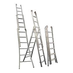 Comprar Escada 3 Lances - 10 Degraus-Alulev