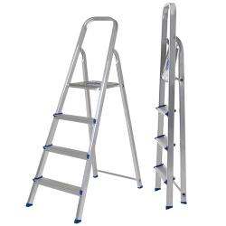 Comprar Escada alum�nio 4 degraus uso dom�stico-MOR