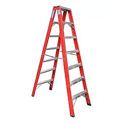 Comprar Escada americana de fibra tipo pintor de 14 degraus �teis FP114-Alulev