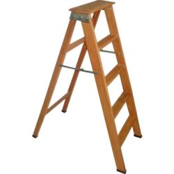Comprar Escada americana de madeira cedrinho 05 degraus-Tander