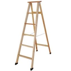 Comprar Escada americana de madeira cedrinho 06 degraus-Tander