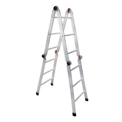 Comprar Escada de Alum�nio 12 Fun��es em 1 - 4x3 Degraus - EA121-Alulev