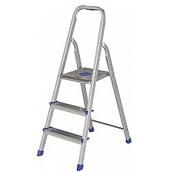 Comprar Escada de Alum�nio 3 Degraus 5101 - Uso Dom�stico-MOR