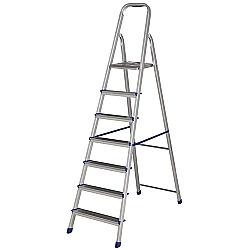 Comprar Escada de Alum�nio 7 Degraus 5105 - Uso Dom�stico-MOR