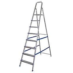 Comprar Escada de Alumínio 8 Degraus 5106 - Uso Doméstico-MOR