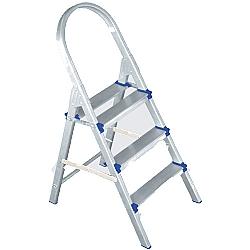 Comprar Escada de alum�nio domestica 03 degraus-Conan