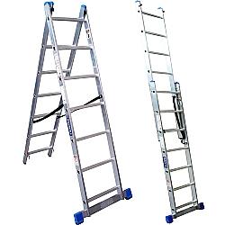 Comprar Escada de alum�nio estic�vel 2 x 12 degraus - NCE2X12-Tander