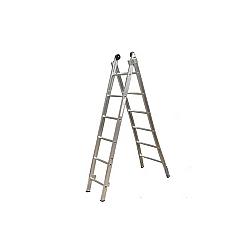 Comprar Escada de Alum�nio Estic�vel 2x8 Degraus-Alulev