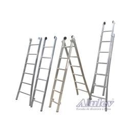 Comprar Escada de Alum�nio Estic�ve -l 2x9 Degraus-Alulev