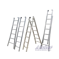 Comprar Escada de Alumínio Esticáve -l 2x9 Degraus-Alulev