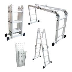 Comprar Escada de alum�nio multiuso articulada 4x3 com plataforma - TEM4X3-Tander Profissional