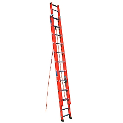 Comprar Escada de fibra extensível 7,20m - de 23 Degraus - FE023-Alulev