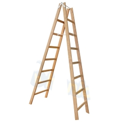 Comprar Escada de madeira tipo pintor 8 degraus 2,30m-W Bertolo