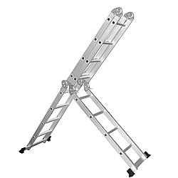 Comprar Escada Dobrável Multiuso Alumínio 3,40m-Bel Fix