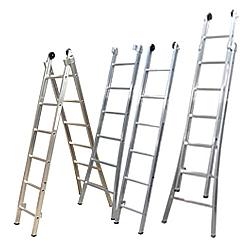Comprar Escada Esticável Dupla 11 Degraus-Alulev