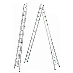 Comprar Escada Extensiva  Dupla Alumínio-Allfort