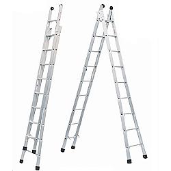 Comprar Escada Extensiva  Dupla 8 Degraus Alumínio-Allfort