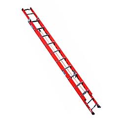 Comprar Escada Extensível Fibra 36 Degraus Redondos Uteis 11,72 m-Alulev