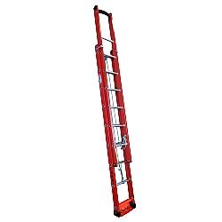 Comprar Escada fibra extensível de 25 degraus 4.20 x 7.2 metros vazada-W Bertolo