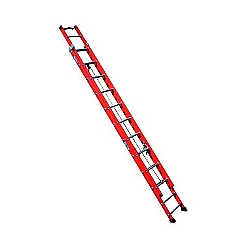 Comprar Escada fibra extens�vel 27 degraus 4,80 x 8,40 m degrau tubular - FE 827-Alulev