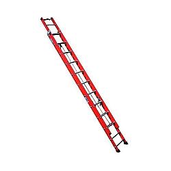 Comprar Escada fibra extensível 27 degraus 4,80 x 8,40 m degrau tubular - FE 827-Alulev