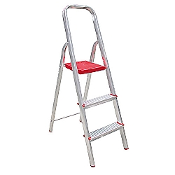 Comprar Escada Res. 3 Degraus Normatizada-Alulev