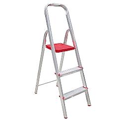 Comprar Escada Residencial 3 Degraus Normatizada-Alulev