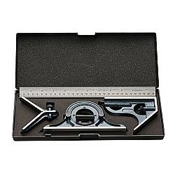 Comprar Esquadro Combinado com Nível e Transferidor de Grau 300 mm-EDA
