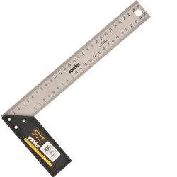 Comprar Esquadro de aço 10 cabo de plástico-Vonder