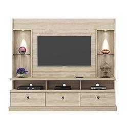 Comprar Estante Home Theater Dinamarca P�rola Espa�o para TV at� 1280 mm-Lukaliam