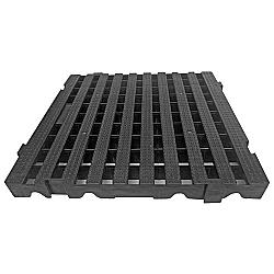 Comprar Estrado Plástico 50x50x5 preto-Lar Plásticos