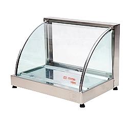 Comprar Estufa Vitrine Curva Simples com Gelo  - Linha Prata VCP47-Edanca