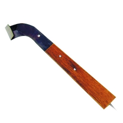 Comprar Faca seringueiro aberta longa com cabo de 60º-Corneta