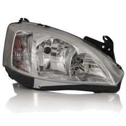 Comprar Farol Corsa Hatch/Sedan/Montana - 2003 à 2010 - Máscara Cromada-Importado