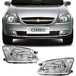 Comprar Farol Corsa Classic - 2011 à 2013 - Foco Simples-Importado