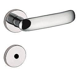 Comprar Fechadura Zamac Madrid Roseta 506-80b Banheiro Cromado-Pado