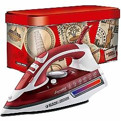 Comprar Ferro de Passar a Vapor Ceramic Gliss visor de LED 1200W - AJ3000V-Black & Decker