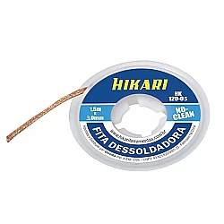Comprar Fita Dessoldadora HK-120 1,5m 3mm no Clean-Hikari