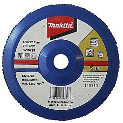 Comprar Flap Disc 180mm Costado de Nylon - D36429-Makita
