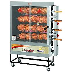 Comprar Forno Industrial Rotativo Capacidade 20 frangos Infravermelho com Espeto Garfo Tradicional - PR621-Progás