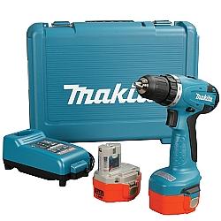 Comprar Furadeira parafusadeira á bateria 14,4 volts - 6281DWPE-Makita
