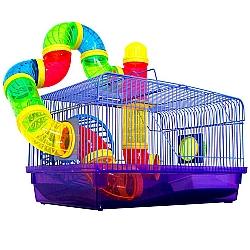 Comprar Gaiola Labirinto com Tubos - Hamster-American Pets