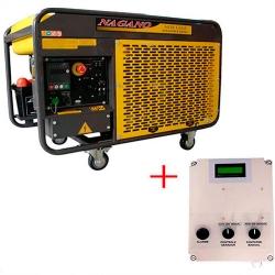 Comprar Gerador de Energia a Diesel Monofásico 11.5 kva refrigerado a água com QTA 110/220v - NDE12EA-Nagano