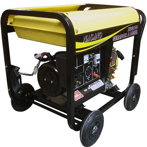 2941456d340 AgrotamA -Gerador de Energia a Diesel Monofásico 3 kva partida manual -  ND3100 110v 220v