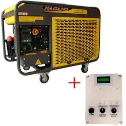 Comprar Gerador de Energia a Diesel Trifásico 12,65 kva refrigerado a água com QTA 110/220v- NDE12EA3-Nagano