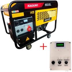 Comprar Gerador de Energia a Gasolina Monofásico 10.5 kva refrigerado à ar 120/220v com QTA - NGE12EA-Nagano